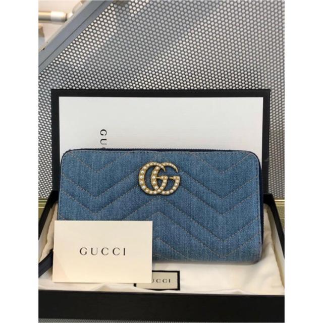 Gucci - 美品 格安 GUCCI デニム財布の通販