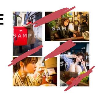 エイチケーティーフォーティーエイト(HKT48)の指原莉乃 club345 2020年カレンダーアザーカット生写真4枚セットE(女性タレント)