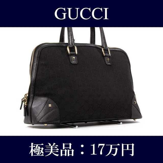 女性 時計 ブランド 人気 スーパー コピー - Gucci - 【限界価格・送料無料・極美品】グッチ・ハンドバッグ(GGキャンバス・J004)の通販