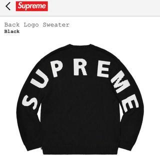 Supreme Back Logo Sweater バックロゴ セーター M