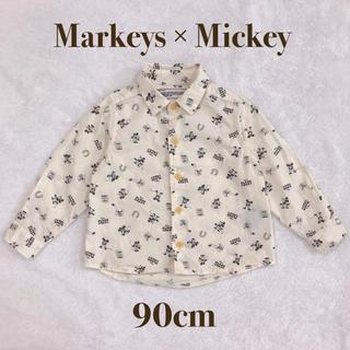 マーキーズ(MARKEY'S)のMarkeys×Disney ミッキー シャツ(Tシャツ/カットソー)