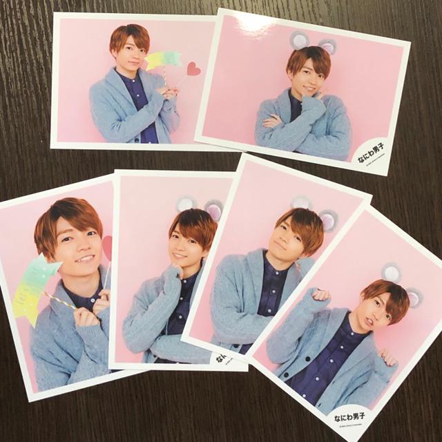 ジャニーズJr.(ジャニーズジュニア)のなにわ男子 西畑大吾 公式写真 Greeting Photo チケットの音楽(男性アイドル)の商品写真