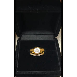 K18リング 18金リング指輪