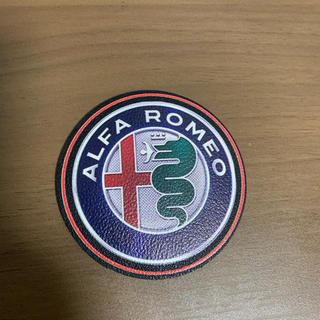 アルファロメオ(Alfa Romeo)のアルファロメオ NEWロゴ コースター(その他)