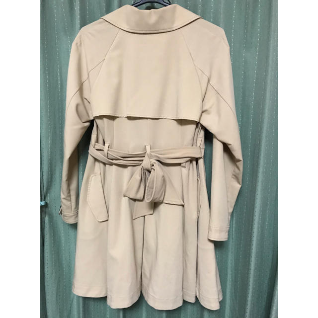 mysty woman(ミスティウーマン)のAライントレンチコート レディースのジャケット/アウター(トレンチコート)の商品写真