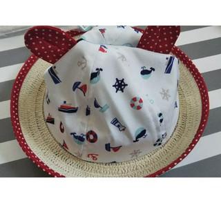 新生児 帽子