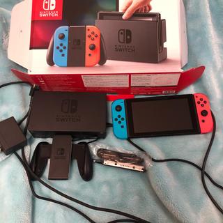 Nintendo Switch - nintendo switch 旧型 美中古 本体
