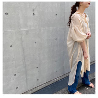 Plage - plage2020SS★missing you  alreadyロングシャツ