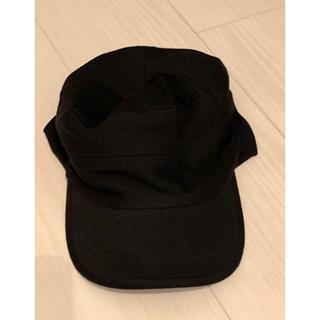 帽子 ブラック(キャップ)