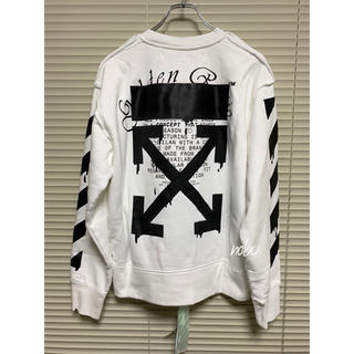 OFF-WHITE - 新品【 OFF-WHITE 】Dripping Arrows sweat