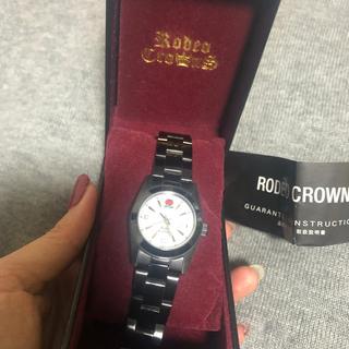 RODEO CROWNS - ロデオクラウン 腕時計 ブラック 美品