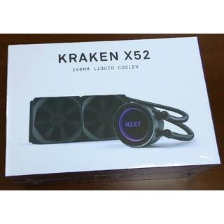 新品 NZXT KRAKEN X52 RL-KRX52-01 240mm水冷