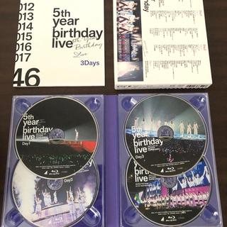 ノギザカフォーティーシックス(乃木坂46)の5th year birthday LIVE Blu-rayDVD 乃木坂46(アイドル)