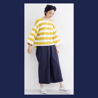 merlot - ボーダートップス★オーバーサイズ