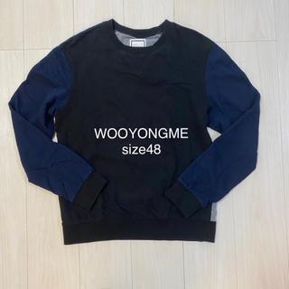 ウーヨンミ(WOO YOUNG MI)のWOOYOUNGMI トレーナー  スウェット ラグラン(スウェット)