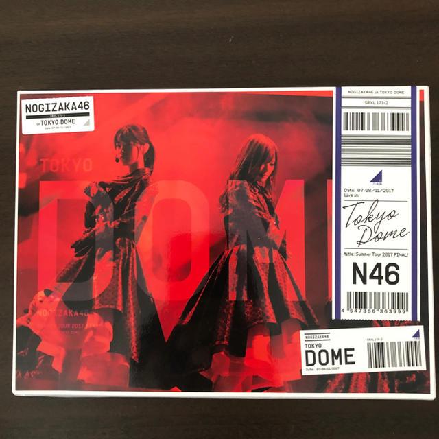 乃木坂46(ノギザカフォーティーシックス)の東京ドーム ツアーファイナルブルーレイDVD 乃木坂46 エンタメ/ホビーのDVD/ブルーレイ(アイドル)の商品写真