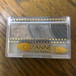 セザンヌケショウヒン(CEZANNE(セザンヌ化粧品))のセザンヌ トーンアップアイシャドウ 03 チャコールブラウン(2.7g)(アイシャドウ)