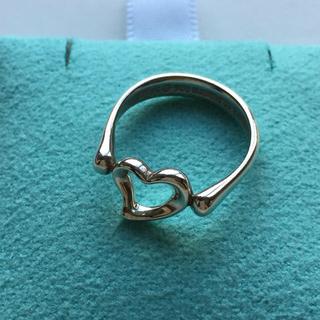 ティファニー(Tiffany & Co.)のセール♡美品 ティファニー オープンハート リング 8号 ハート 指輪(リング(指輪))