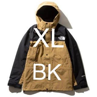 THE NORTH FACE - マウンテンライトジャケット bk  XL ブリティッシュカーキ