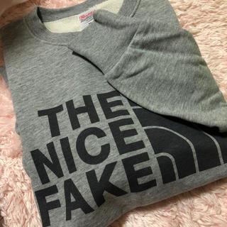 THE NORTH FACE - THE NICE FAKE トレーナー