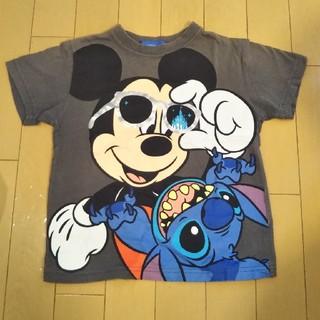 Disney - キッズ 半袖Tシャツ ミッキー&スティッチ