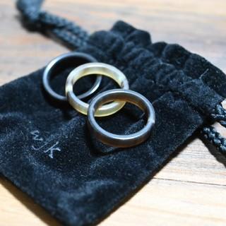 ダブルジェーケー(wjk)のwjk 指輪 水牛の角(リング(指輪))