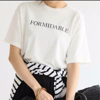 IENA - 【2019SS】IENA ロゴ プリント T シャツ FORMIDABLE