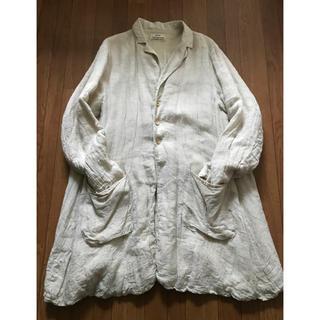 Paul Harnden - kaval linen shrunk coat