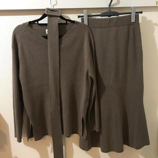 スナイデル(snidel)の《スナイデル》ニット+ニットスカート セットアップ 2020年福袋(ニット/セーター)