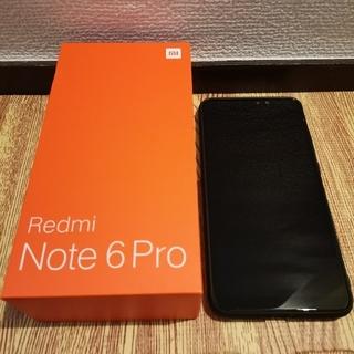 Redmi Note 6 Pro 4GB/RAM 64GB/ROM グローバル版(スマートフォン本体)