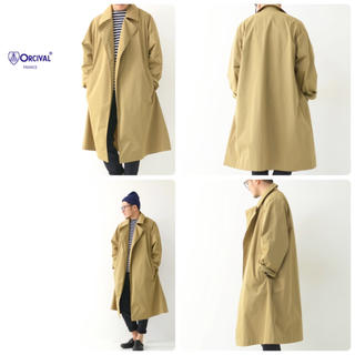 ORCIVAL - ORCIVAL M's MEMORY CLOTH COAT