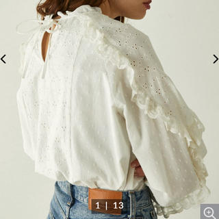 moussy - 完売ブラック【新品】MOUSSY EMBROIDERED LACE ブラウス