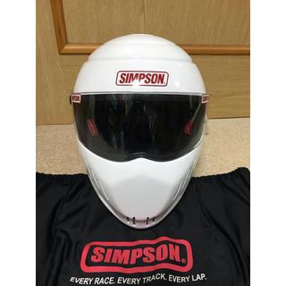 SIMPSON - 外観 美品 SIMPSON シンプソン rx10 ヘルメット