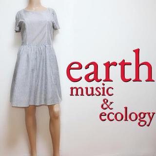 earth music & ecology - いつでも♪アース カジュアル コットンワンピース♡マウジー ジルスチュアート