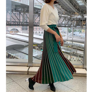 LagunaMoon - タグ付 未使用 ❤︎ ラグナムーン マキシスカート Sサイズ
