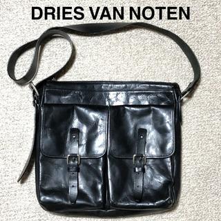 DRIES VAN NOTEN - Dries Van Noten レザーショルダーバッグ/ドリスヴァンノッテン