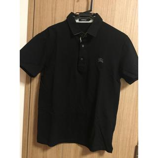 バーバリーブラックレーベル(BURBERRY BLACK LABEL)の【未使用に近い】人気ブラック!ポロシャツ!(ポロシャツ)