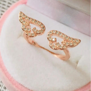 Honey Cinnamon - 天使の羽 指輪 リング