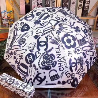 CHANEL - 折り畳み傘 雨傘、日傘