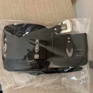 TOGA - TOGA × PORTER ボディーバッグ Black 黒 ブラック