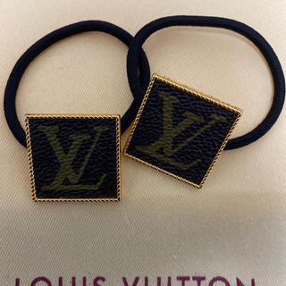 LOUIS VUITTON - ハンドメイド ヘアゴム モノグラム        (オマケ付き)