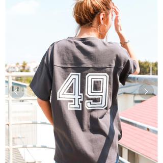 アンティローザ(Auntie Rosa)のナンバリングTシャツ(Tシャツ(半袖/袖なし))