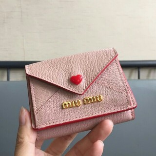 miumiu - MIUMIU 新品未使用 ラブレター財布