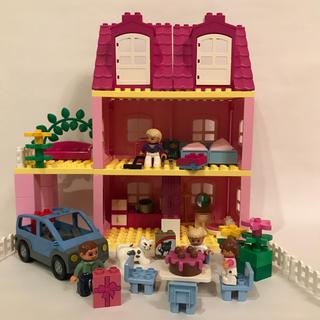 Lego - レゴ デュプロ ドールハウス 4966 ピンクのおうち