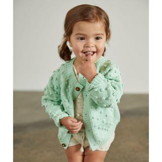 Caramel baby&child  - Misha and puff popcorn cardigan 5-6