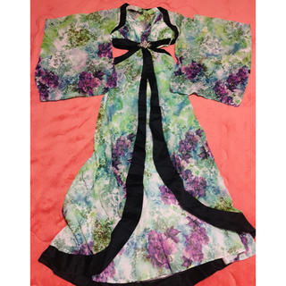 dazzy store - 花魁 ドレス jewels 個性派 和柄 ビジュー