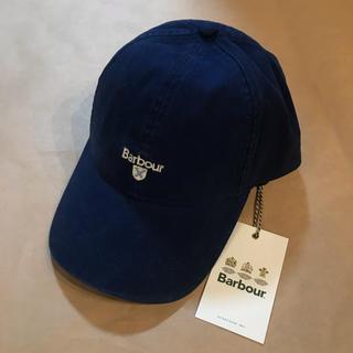 バーブァー(Barbour)の新品 Barbour cascade cap ブルー キャップ(キャップ)