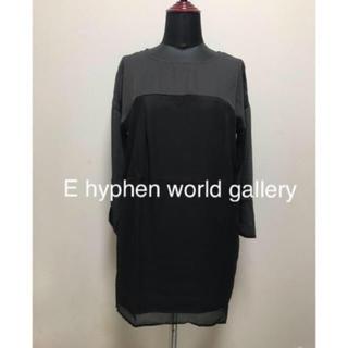 E hyphen world gallery - タグ付き未使用品☆E hyphen world gallery リボンワンピース
