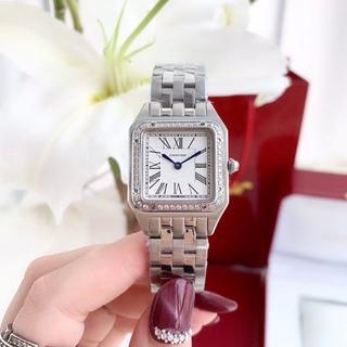 Cartier - カルティエ クォーツ 腕時計 ダイヤ