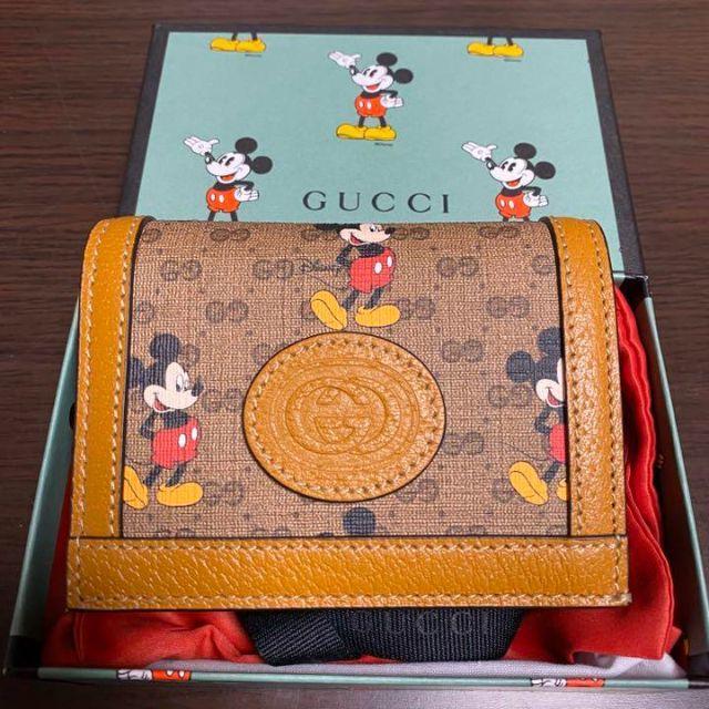 ブルガリ バングル 時計 スーパー コピー / Gucci - GUCCI グッチ ミッキー 二つ折り財布の通販